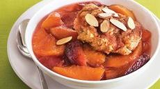Peach-Plum Cobbler Recipe