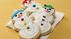Snowman Cookies Recipe