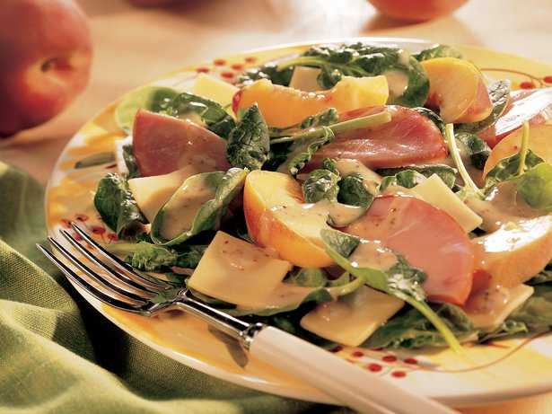 Canadian Bacon and Gouda Salad 