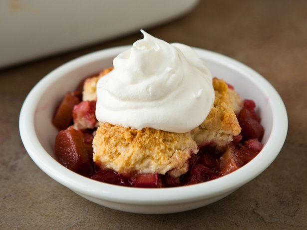 Rhubarb Cobbler recipe from Betty Crocker