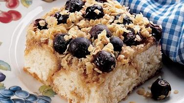 Country Blueberry Coffee Cake