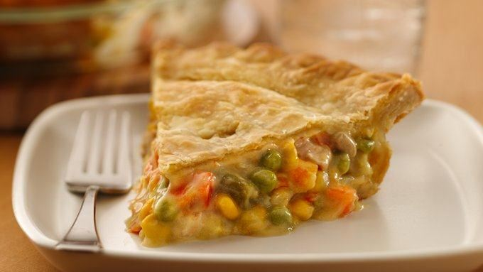 Super Easy Chicken Pot Pie recipe - from Tablespoon!