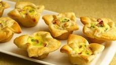 Crescent Bacon-Cheese Tartlets Recipe