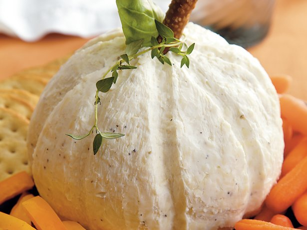 White Pumpkin Cheese Ball