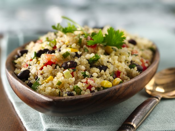 Gluten Free Quinoa with Black Beans