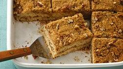 Healthified Streusel Coffee Cake