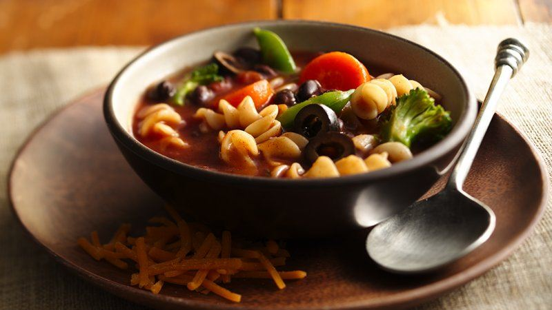 Tex Mex Vegetable Soup