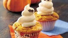 Friendly Ghost Cupcakes Recipe