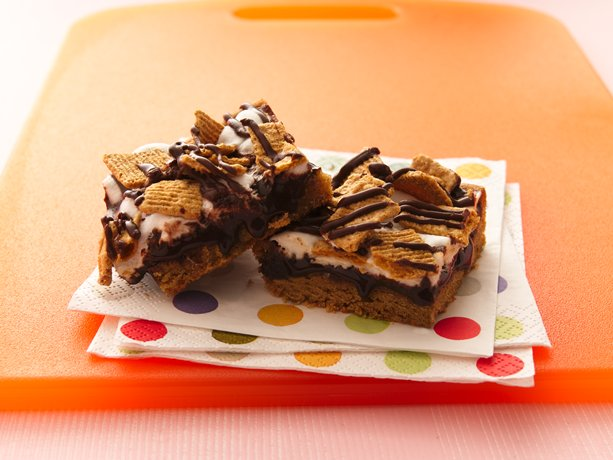 Smores Peanut Butter Bars
