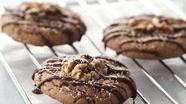 Healthified Chocolate Glazed Cookies