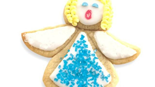 Holiday Angel Cookies