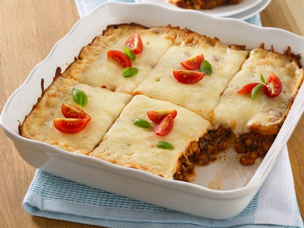 Easy Lasagna Squares