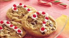 Candy Cane Chocolate Chip Cookies Recipe