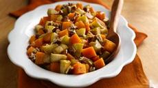 Baked Butternut Squash with Apples  Recipe