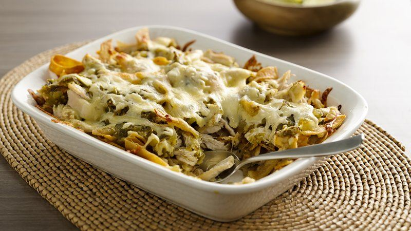 Chicken Chilaquiles Casserole