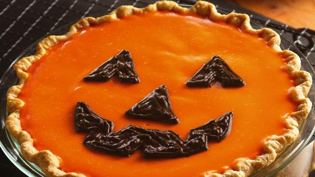 Jack–o'–Lantern Orange-Pumpkin Pie