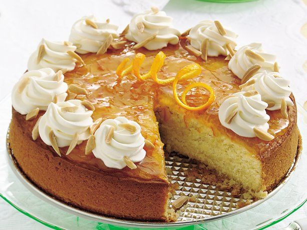 Image of Almond-orange Cake, Betty Crocker