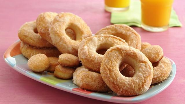 Baked Sugar Doughnuts