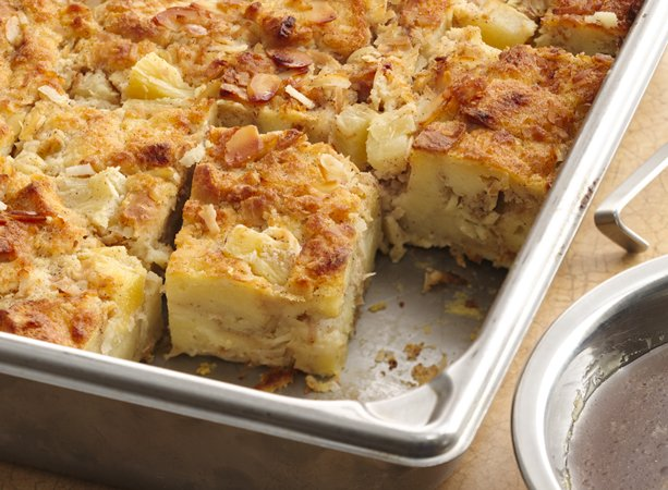 Hawaiian Bread Pudding with Rum Sauce | General Mills Convenience and ...