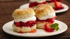 Strawberry Biscuit Shortcakes Recipe