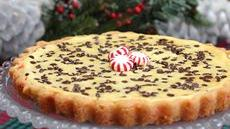 Peppermint-Chocolate Chip Cheesecake Tart Recipe
