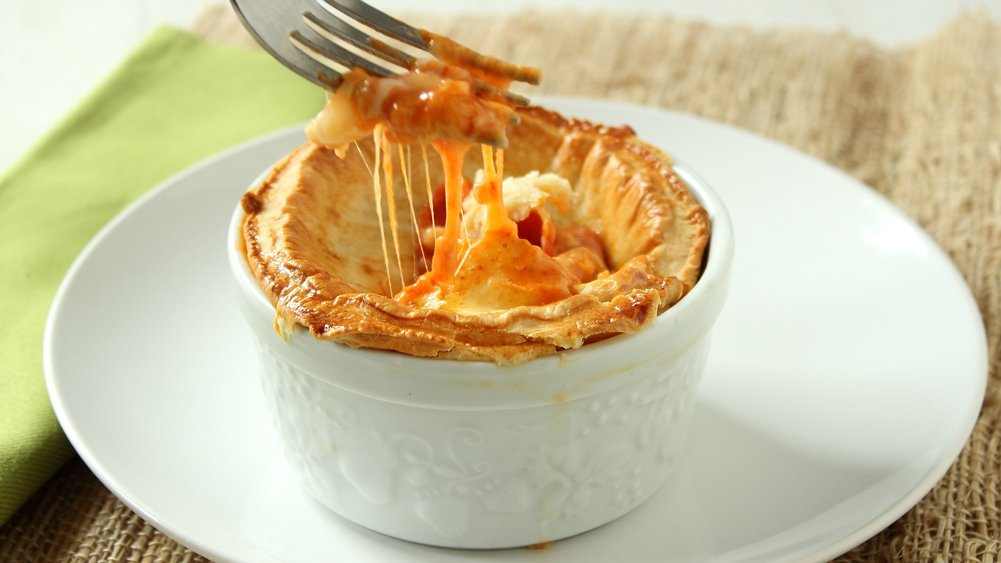 Pepperoni Pizza Pot Pies recipe from Pillsbury.com