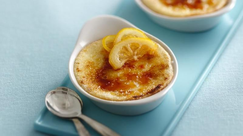 Lemon Brûlée Tarts