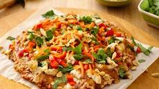 """Thai Chicken Party"" Pizza Recipe"
