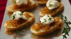 Crostini with Caramelized Onion Jam Recipe