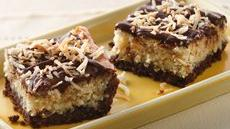 Chocolate-Hazelnut-Coconut Bars Recipe