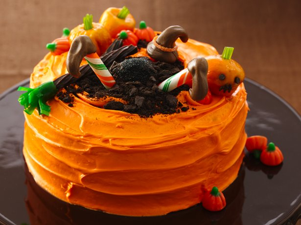 Crash-Landing Witch Cake