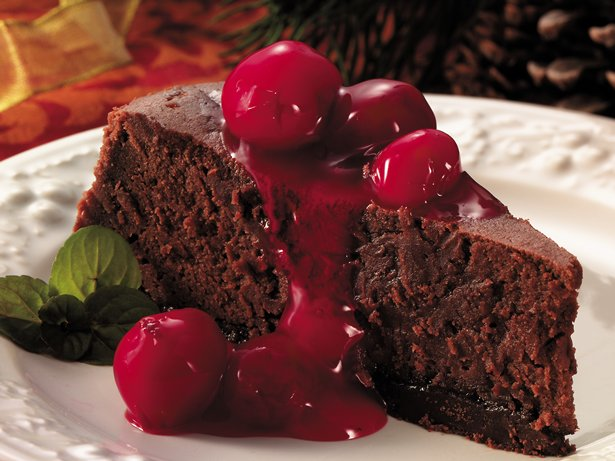 Cherry-Fudge Cheesecake Dessert