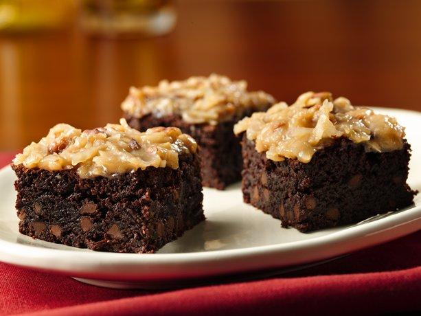 Gluten-Free German Chocolate Brownies