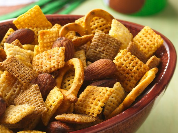 The Big Game Chex Mix (1/2 Recipe)