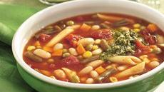 Slow Cooker Italian Vegetable Soup with White Beans Recipe
