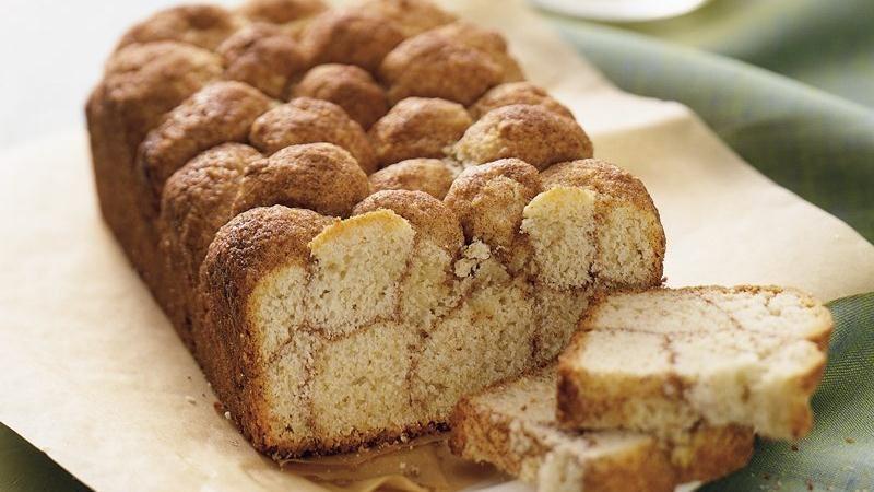 Cinnamon Monkey Bread recipe from Betty Crocker