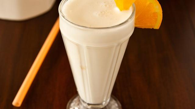 Spiked Orange Cream Shake