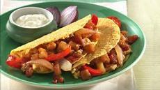 Middle East Vegetable Tacos Recipe