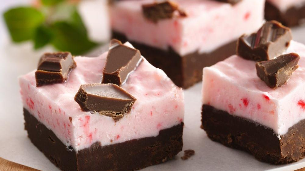 Double-Layer Mint Fudge