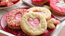 Valentine Heart Sandwich Cookies Recipe