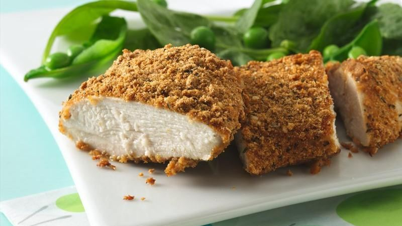 Dijon-Parmesan Chicken Breasts