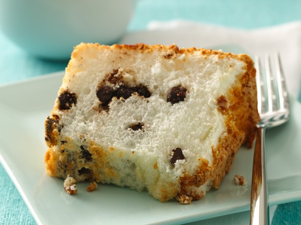 Low Fat Chocolate Chip Angel Food Cake | General Mills Convenience and ...