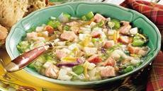 German Sausage and Cabbage Soup Recipe