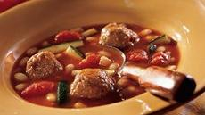 White Bean-Turkey Meatball Chili Recipe