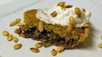 Savory Pumpkin Pie