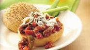 Sausage Pizza Sloppy Joes