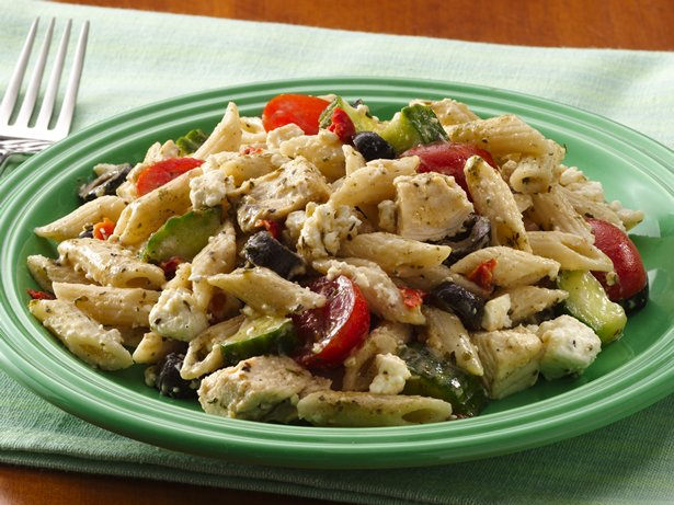 Mediterranean Chicken-Pasta Salad