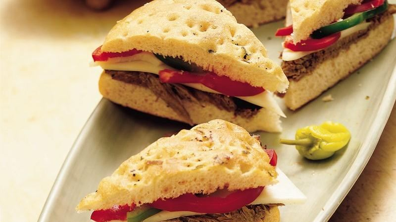 Easy Italian Beef Sandwiches