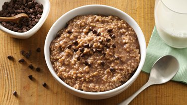 Slow-Cooker Hot Chocolate Oatmeal