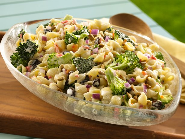 Sunny Broccoli Pasta Salad